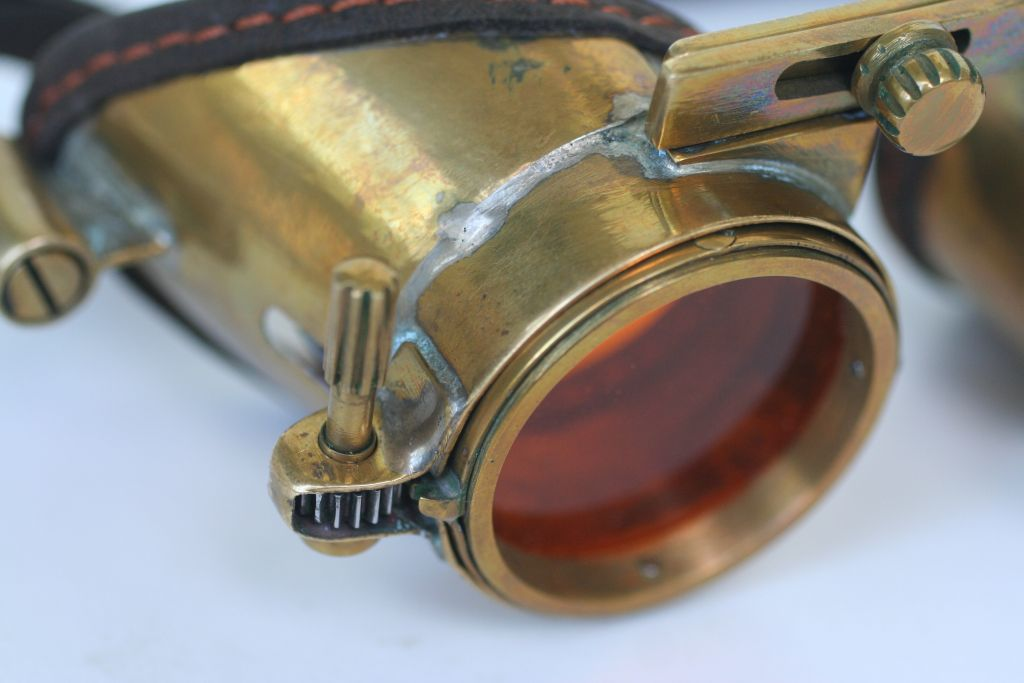 "Steampunk goggles ""ZoomEye"""