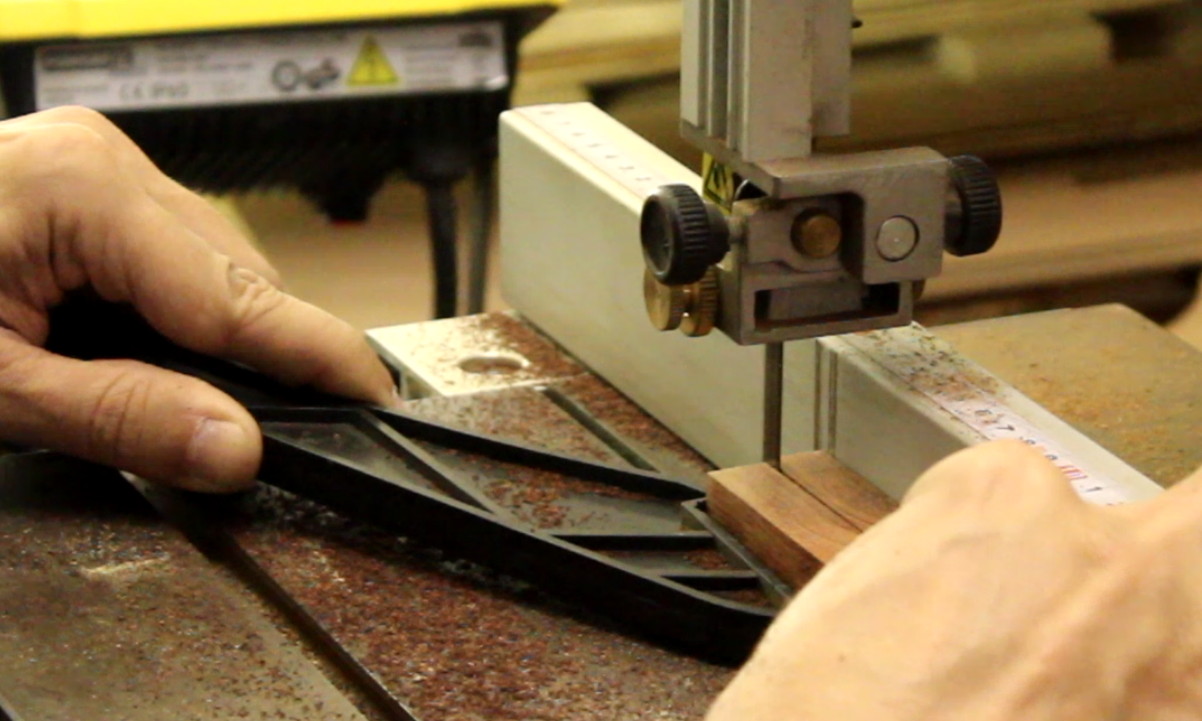 Making the Bevel Body - I (cutting, Shaping, Preliminary Sanding)