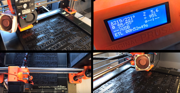 Print a Clock Face and Drop Into Position