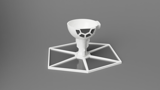 TIE Fighter Inspired Egg Cup