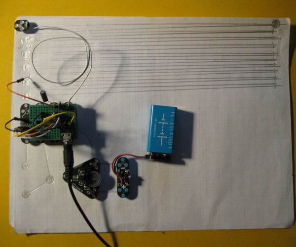 Exploring Sound Synthesis With the Circuitscribe Conductive Ink Circuit Kit