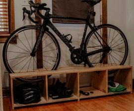 DIY Bike Rack With 1 Sheet of Plywood!