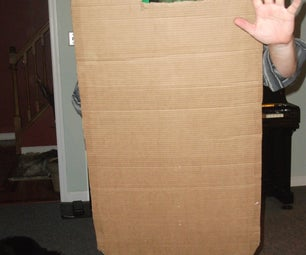Cardboard Riot Shield