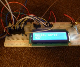 DIY I2C LCD Display With Inputs