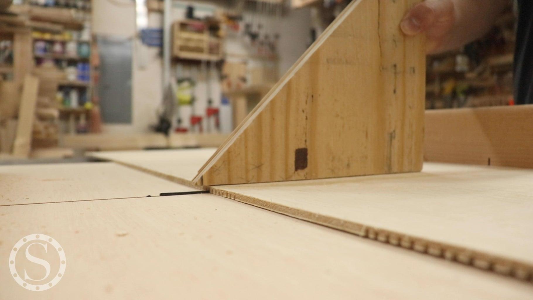 Breakdown Side Plywood