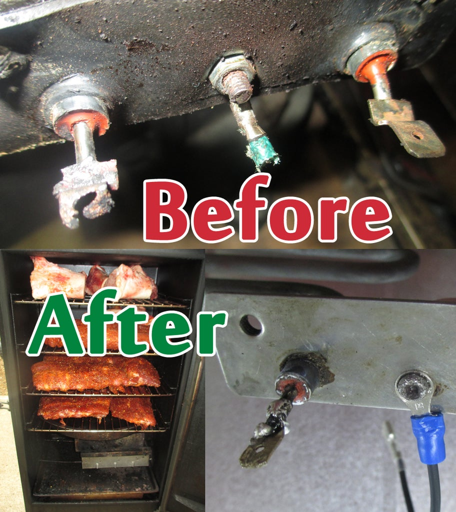 Repair And Restore Masterbuilt Electric Smoker 12 Steps With Pictures Instructables
