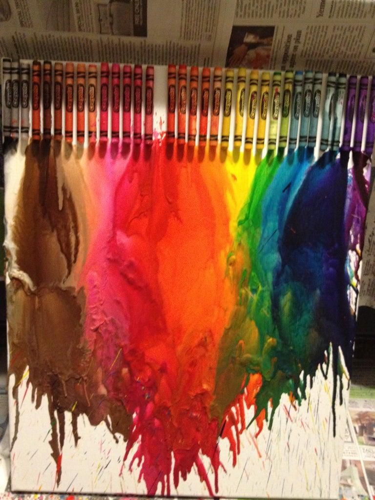 How to Make Crayola Art