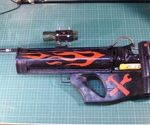 DIY Full Auto Airsoft Rifle