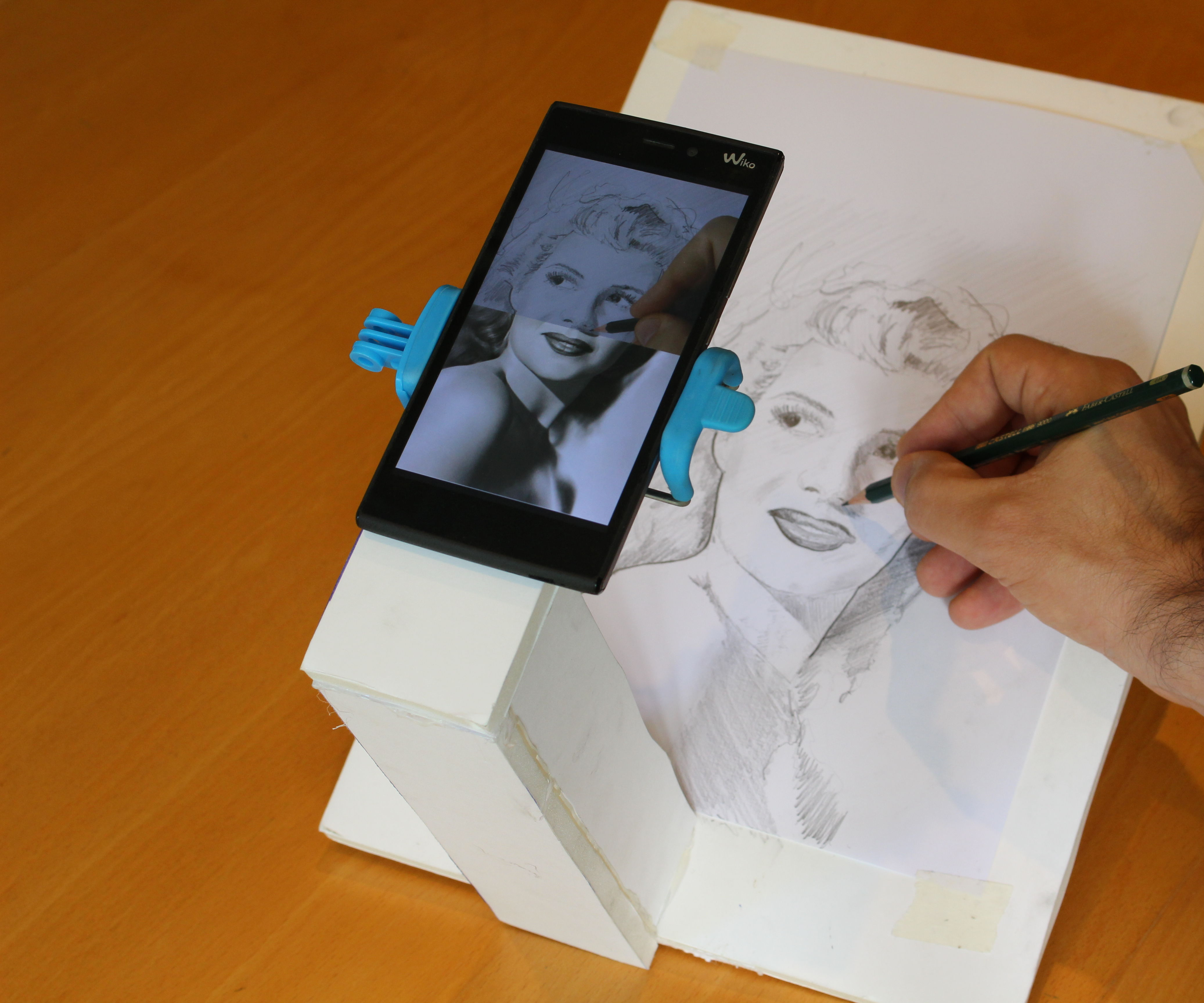 Making an Augmented Reality Sketchpad
