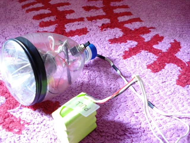 How to make LED Headlight for Bicycle using a bottle.