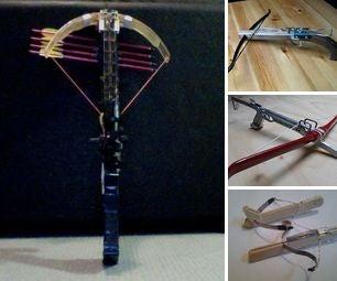 Assorted Crossbow Pistol Designs