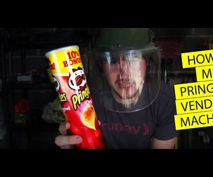 Make a Vending machine with a Pringles Can!