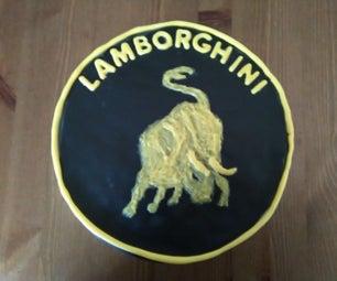 Lamborghini Logo Cake