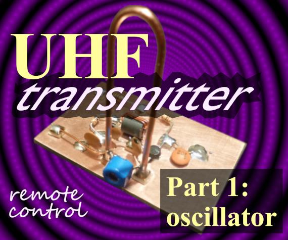 UHF Remote Control Transmitter