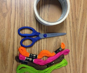How to Create a Candy Stripe Friendship Bracelet