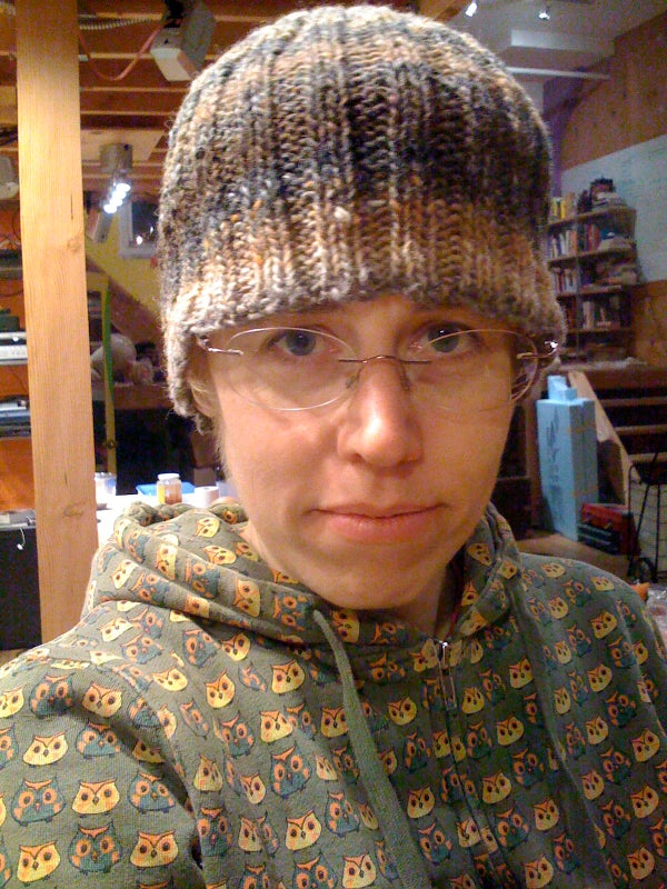 Knit a Hat Without Using a Pattern