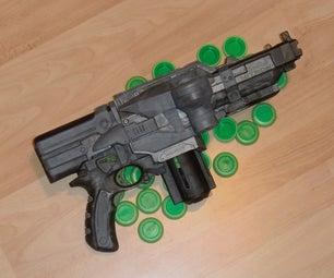 Semi-Automatic Nerf Nitron Mod
