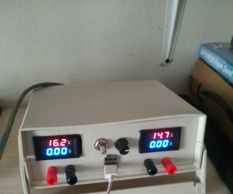 DIY Modular Bench Power Supply