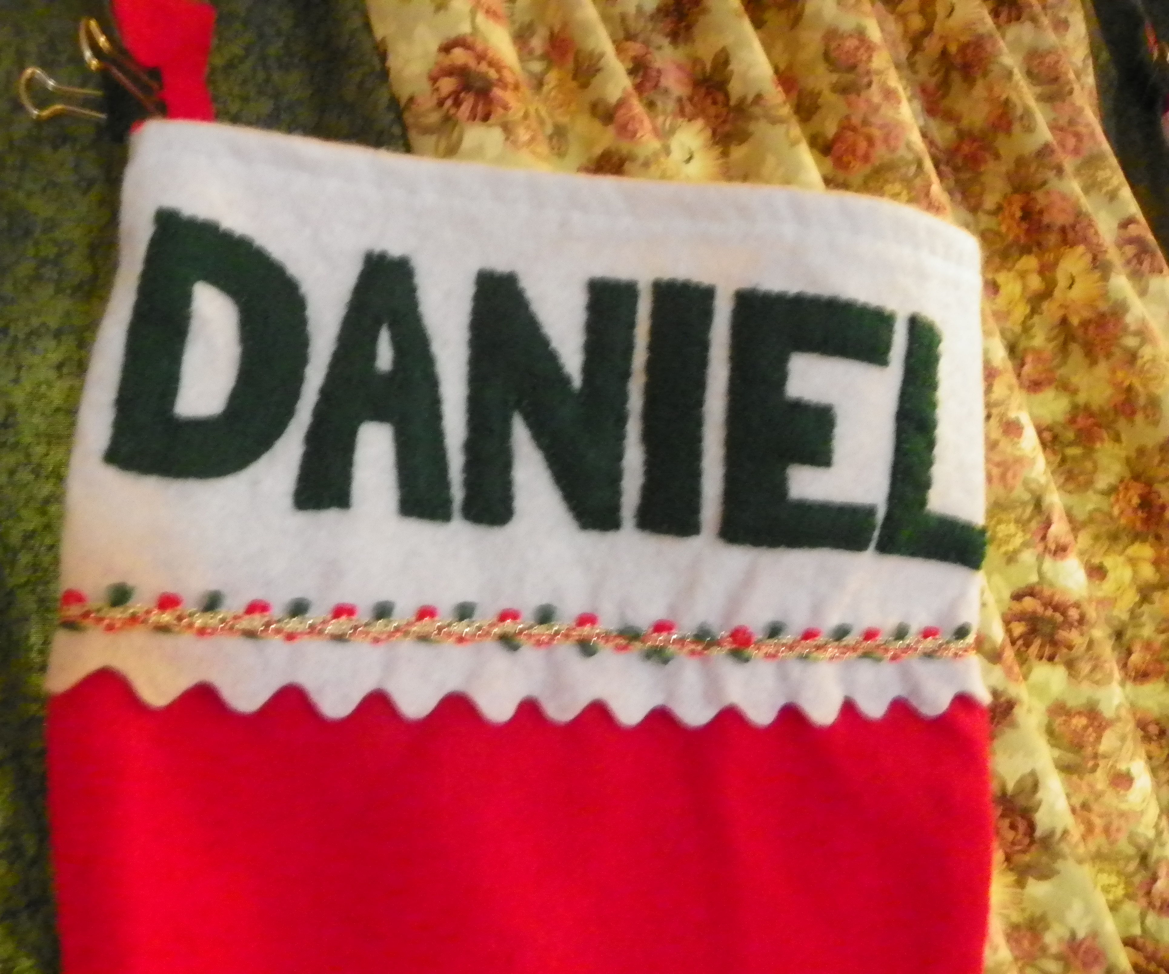 Personalize Christmas Stockings