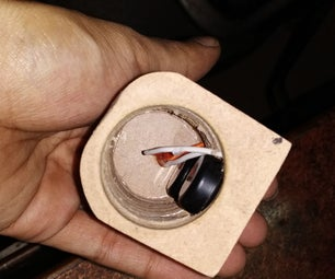 Portable Cylindrical Speaker Enclosure