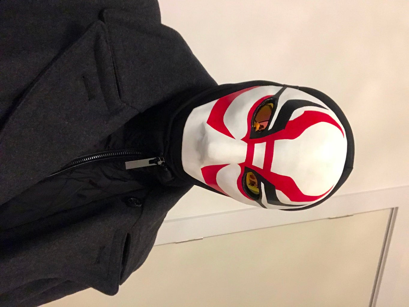 How to Make Yokai's Mask From Big Hero 6