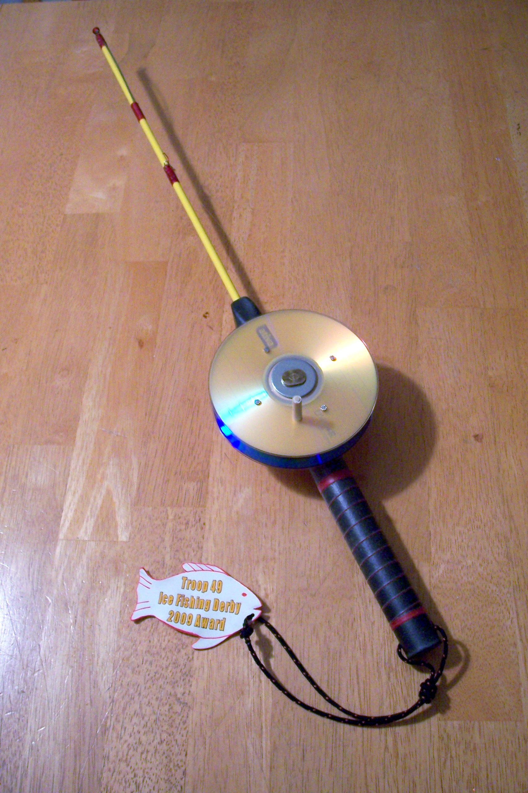 Build an Ice Fishing Pole