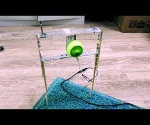 Make a Self Balancing Gyroscope on Two Legs
