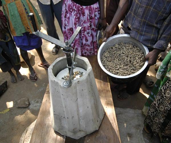 Universal Nut Sheller
