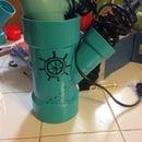 Blow Dryer And Straightener Holder