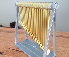 3D Printed Pendulum Wave (Tinkercad)