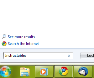 Add Internet Search to Windows Vista or later.
