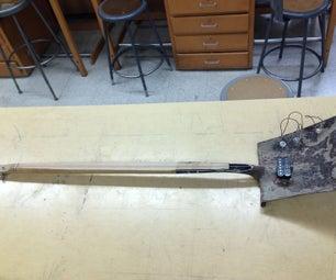 One-Stringed Shovel Guitar
