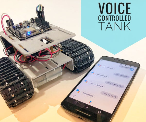 Wi-Fi Voice Controlled Robot Using Wemos D1 ESP8266, Arduino IDE, IFTTT, Adafruit.io and Google Assistant