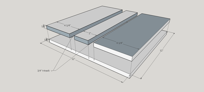 Making the 'Jig Bed' and Adding the Rails