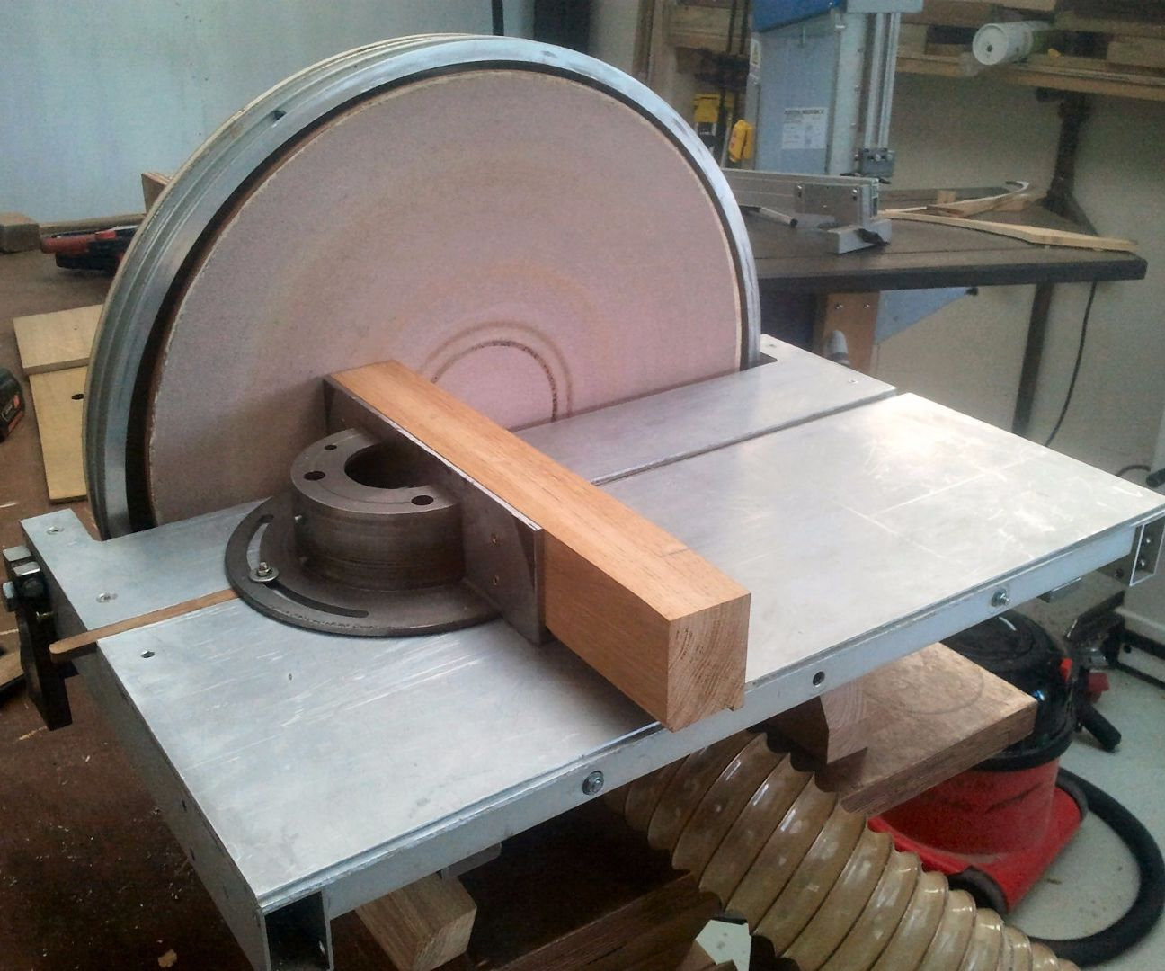 BIG Disk Sander: Build, Use and Tips