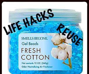 Reuse Odor Absorbing Gel Beads