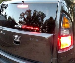 Star Wars Lightsaber Brakelight on Wiper