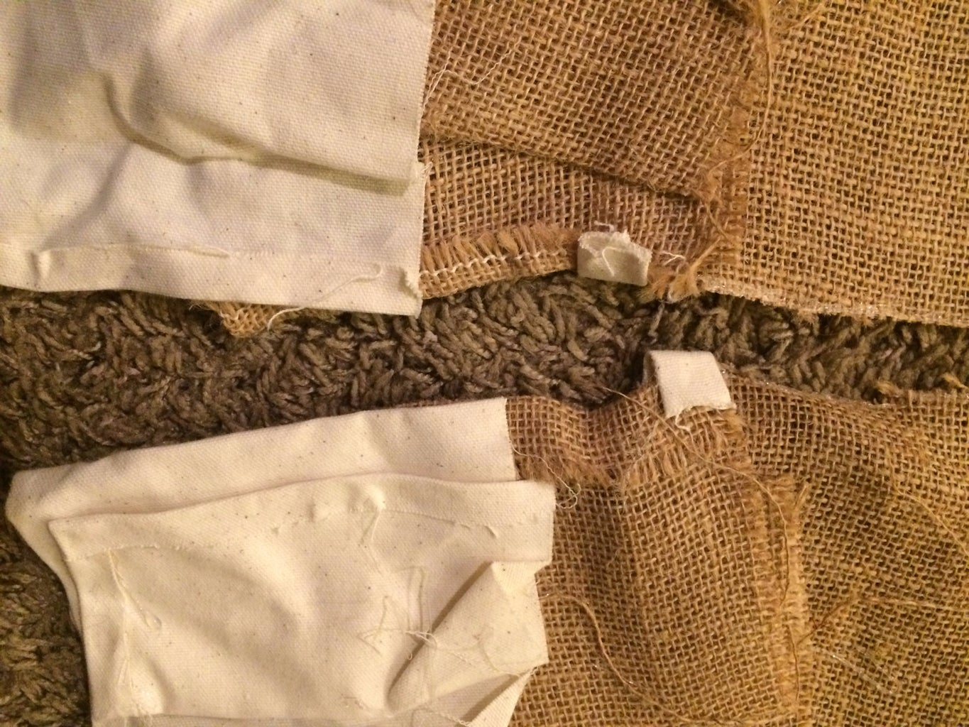 Cutting, Hemming and Gluing