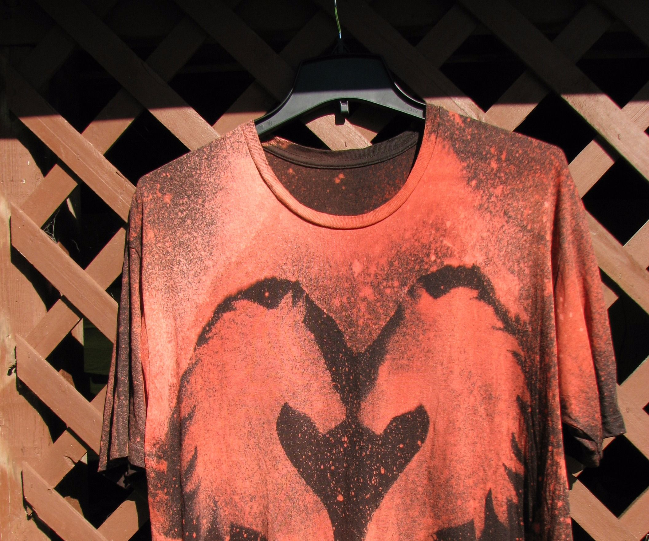How to Custom Design a T-Shirt With Bleach
