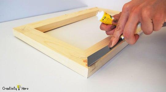 Applying a Wood Filler.