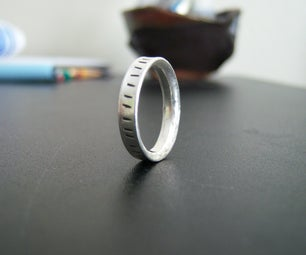 Simple Sterling Ring