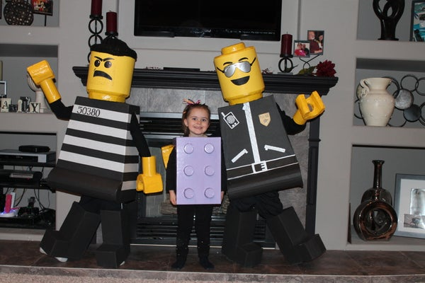 """""""Lego"""" Trick-or-Treating!"""