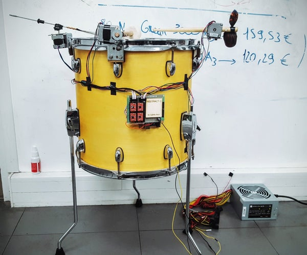AbstractC - a Drum Clock