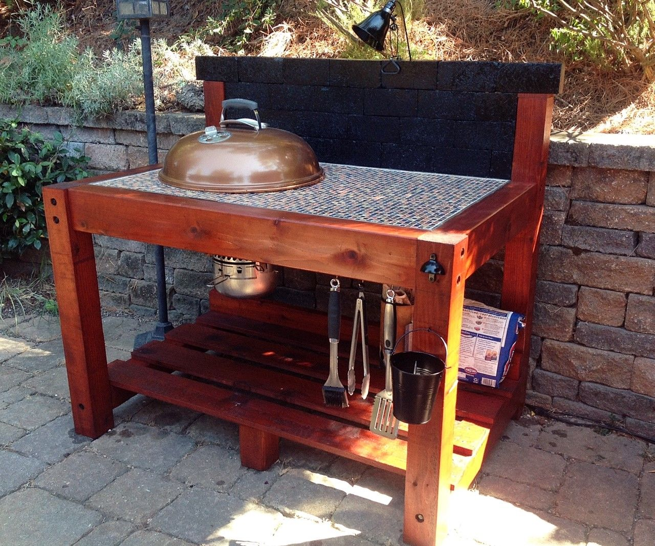 Weber BBQ Table