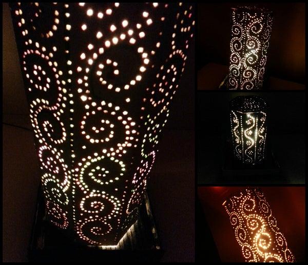 DIY Moroccan Inspired Lampshade