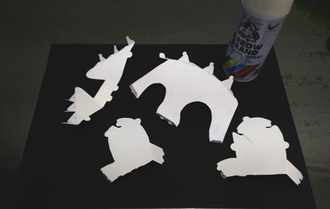 Paint the Parts