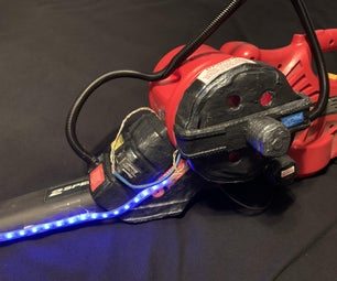 Leaf Blower Proton Pack Candy Shooter