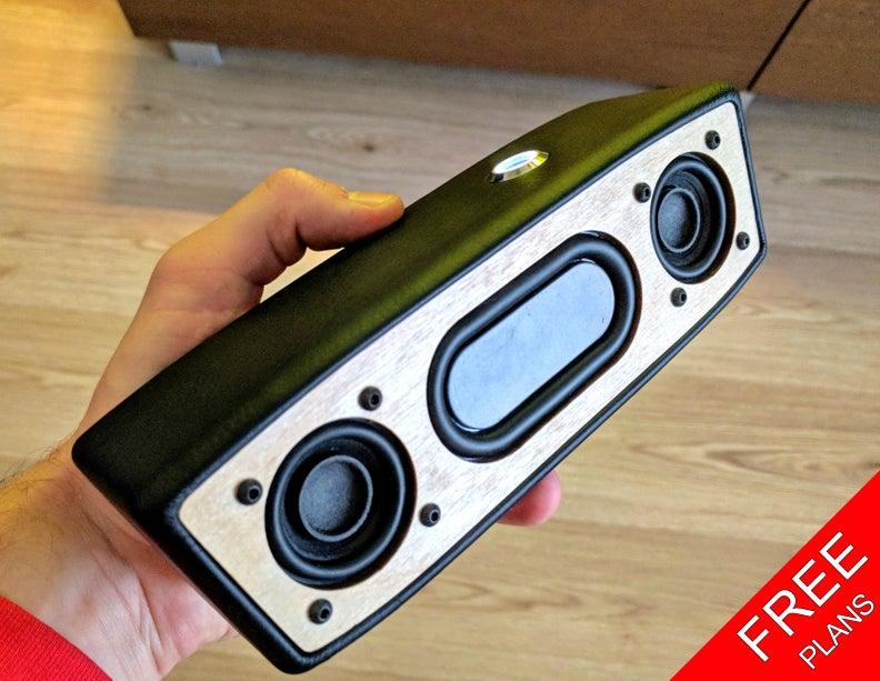 Portable Bluetooth Speaker (FREE PLANS) : 9 Steps (with Pictures) -  InstructablesInstructables