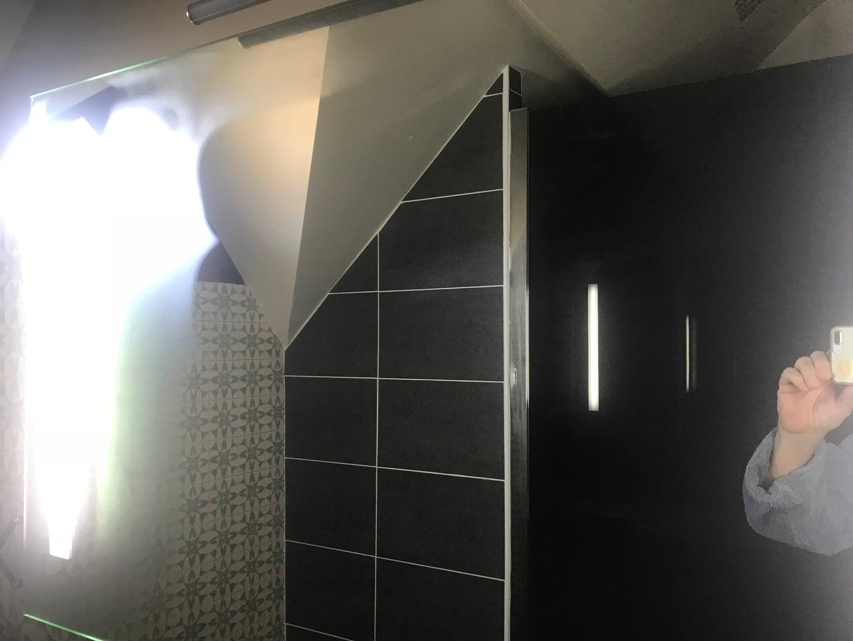 Mist Free Bathroom Mirror