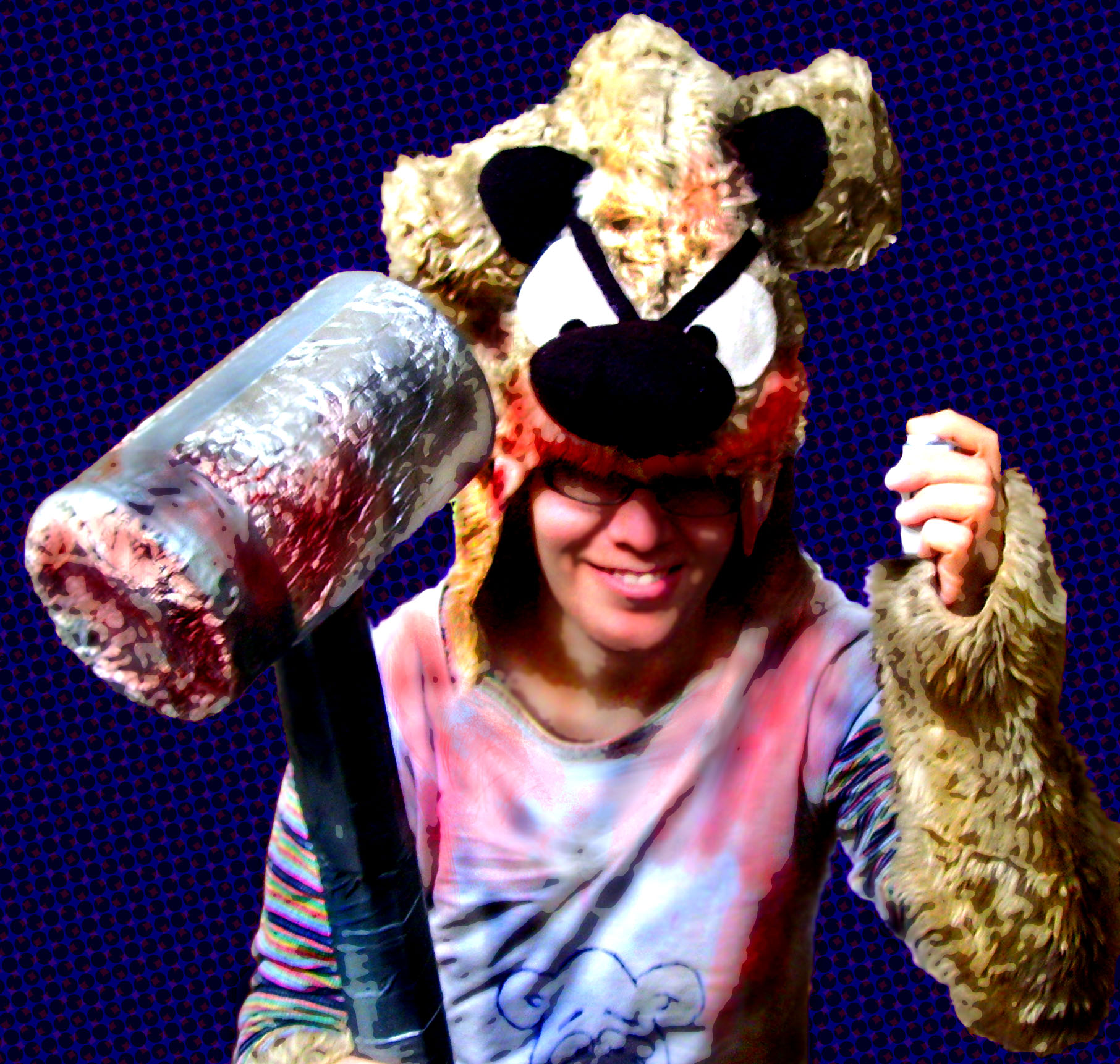 Make a Teddy Bear Assassin Costume